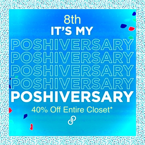 Other - 🎉40% Off Poshiversary Sale ❤️ for Future Sales🎉